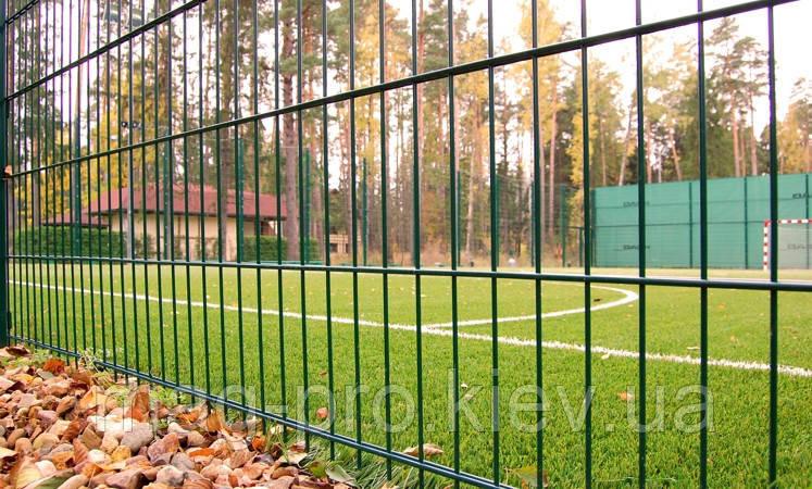 Ограждение спортивных площадок (высота 4м) для бадминтона 7х15 -4м