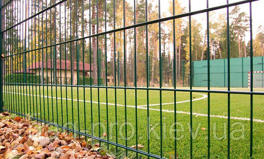 Ограждение спортивных площадок (высота 4м) для бадминтона 7х15 -4м, фото 2