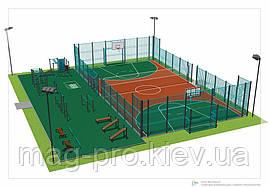 Ограждение спортивных площадок (высота 4м), фото 3