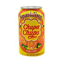 Газированный напиток Chupa Chups Sparkling Orange с апельсиновым вкусом
