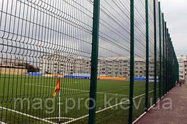 Ограждение спортивных площадок (высота 4м) для бадминтона 7х15 -4м, фото 3