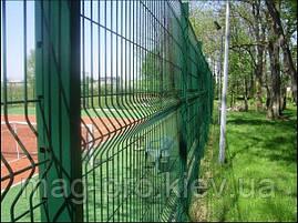 Ограждение спортивных площадок (высота 4м) для баскетбола 15х28-4м, фото 3