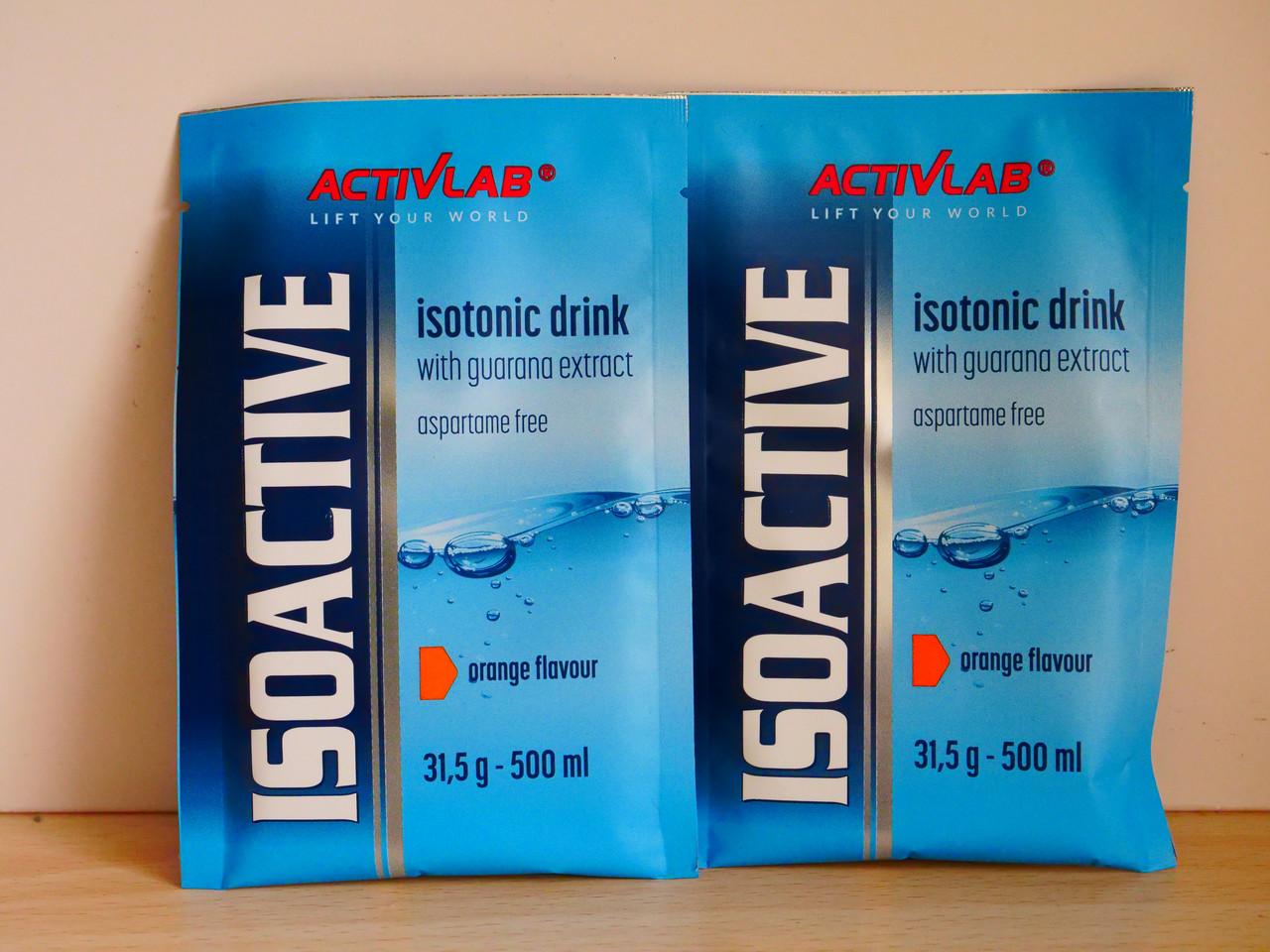 Изотоник Activlab  Iso Active  31,5g (апельсин)