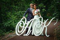 Инициалы на свадьбу