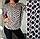 Женская блузка с принтом зебра, с 48-58 размер, фото 6