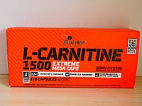 Жиросжигатель для похудения Olimp L-Carnitine 1500 Extreme (120 caps)