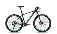 Велосипед CTM Caliber 3.0 (black/green) 2018 года; 17 ростовка
