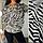 Женская блузка с принтом, с 48-58 размер, фото 6