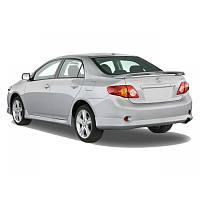 Накладка заднего бампера Toyota Corolla