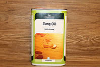 Тунговое масло, Tung Oil, натуральное, 1 литр, Borma Wachs