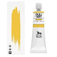 Масляная краска 10 Кадмий желтый средний 60 мл Renesans Польша