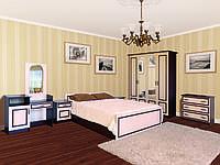 Спальня Ким, продается комплектом и по модулям