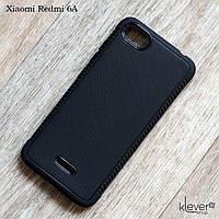 Матовый силиконовый чехол для Xiaomi Redmi 6A (черный), фото 1