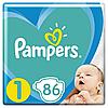 Підгузники Pampers New Baby Dry 1 (2-5 кг) Jumbo Pack,86 шт.