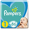 Подгузники детские Pampers New Baby Dry 1 (2-5 кг) Jumbo Pack,86 шт.