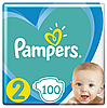 Підгузники Pampers New Baby-Dry 2 (4-8 кг) Giant Pack,100 шт.