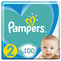 Подгузники Pampers New Baby-Dry 2 (4-8 кг) Giant Pack,100 шт.