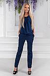 Женский стильный брючный костюм:блуза и брюки (расцветки), фото 5