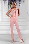 Женский стильный брючный костюм:блуза и брюки (расцветки), фото 8