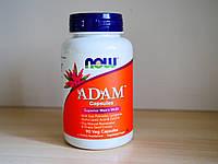 Витамины Now Foods  Adam, лучшие мультивитамины для мужчин(90 Veg Caps)