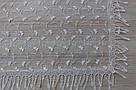 Хустка молочна фатинова ажурна святкова 230-10, фото 2