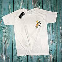 Футболка Off-White Bart Peace ориг бирки НОВИНКА