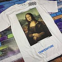 Футболка OFF WHITE - Mona Lisa White Топ качество Ориг бирки Все размеры