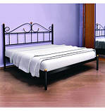 Кровать металлическая Розана - 1 / Rosana - 1 двухспальная 160 (Метакам) 1670х2100х1010 мм , фото 5