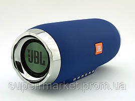 JBL Charge 4+ E4 plus 20W реплика, портативная колонка с Bluetooth FM MP3, синяя, фото 3