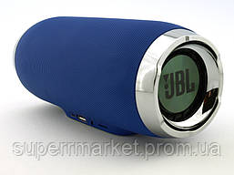 JBL Charge 4+ E4 plus 20W реплика, портативная колонка с Bluetooth FM MP3, синяя, фото 2