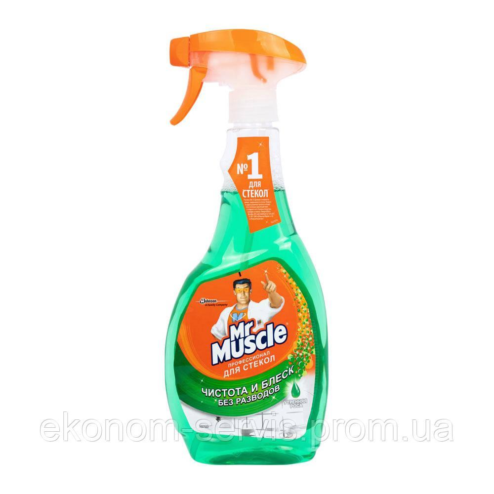 Средство для мытья стекол MR. MUSCLE Утренняя роса, 500мл с триггером