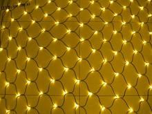 СВІТЛОДІОДНА ГІРЛЯНДА МЕРЕЖА 2*3м колір жовтий