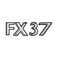Эмблема надпись Infiniti FX37 (S51) Новая Оригинальная