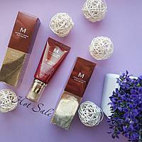 ВВ крем Missha M Perfect Cover ББ-крем 50ml, Корейский ББ крем для лица SPF42 Светло бежевый, Лучший тон