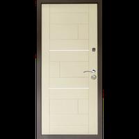 """Входная дверь """"Куб ТМ Riccardi"""" 2050x860мм (ПРЕМИУМ) дуб беленый"""