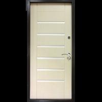 """Входная дверь """"Лагуна ТМ Riccardi"""" 2050x860мм (ПРЕМИУМ) Дуб беленый"""