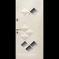 """Входная дверь """" Steelguard Maxima"""" 2050*880мм Luxor белая"""