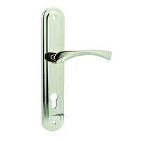 Ручка на планке для входной двери KEDR 85.0423 (AL/CINC) (G Золото)