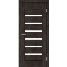 """Межкомнатная дверь ПВХ """"Лагуна"""" стекло сатин  (2 ЦВЕТА)"""