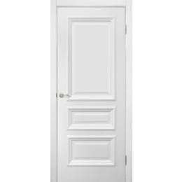 "Межкомнатная дверь ПВХ ""Сан Марко 1.2 ПГ"" белый мат (1 ЦВЕТ)"