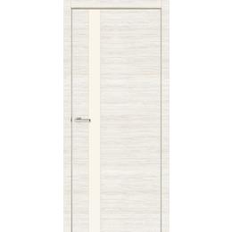 "Межкомнатная дверь ПРЕМИУМ ""Cortex ALUMO 01""  (Crema bianco line)"