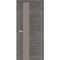 "Межкомнатная дверь ПРЕМИУМ ""Cortex ALUMO 03""  (Graphite Ash Line)"