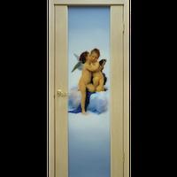 """Межкомнатная дверь ШПОН """" Премьера ФП с ангелами"""""""
