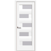 """Межкомнатная дверь ПВХ """"Пиана"""" (Белый мат)"""
