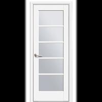 """Межкомнатная дверь ПВХ """"Муза"""" (Белый мат)"""