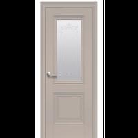 """Межкомнатная дверь ПВХ """"Имидж Сатин"""" с молдингом (2 ЦВЕТА)"""