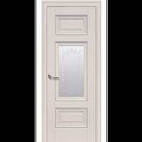 "Межкомнатная дверь ПВХ ""Шарм Сатин"" с молдингом (1 ЦВЕТ)"