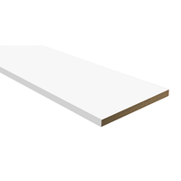 Доборная доска 100мм (Белый матовый)