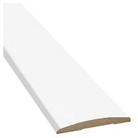 Наличник полукруглый Premium 70*8мм Белый мат