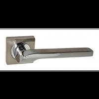 Ручка дверная KEDR R06.120 (SN/CP Сатин/Хром)